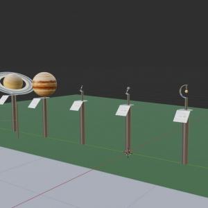 Unikátní model Sluneční soustavy na hvězdárně